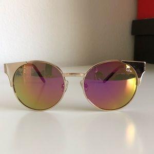 Quay Australia Asha Gold Sunglasses